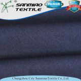 De gama alta hilado teñido índigo Spandex Single Jersey Tela