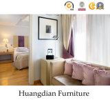 놓이는 주문을 받아서 만들어진 단순한 설계 호텔 침실 나무로 되는 가구 (HD001)