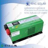 Whc fora do inversor solar puro da onda de seno da C.A. 1000W da C.C. 220V da grade 12V