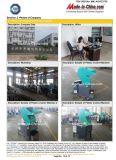 Abfall vergeudete Haustier-Plastikflasche/Film-/Gummi-/Holz-/Blatt-auf lagerzerkleinerungsmaschine