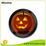 工場カスタムHalloweenはHalloweenの装飾のためのプラスチック硬貨のカスタムプラスチック硬貨を中国製支える