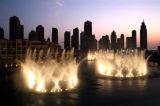 Gran proyecto de la música al aire libre fuente de agua de diseño para la decoración