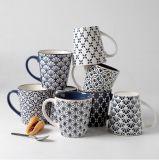 Grès, couleur noire, tasse en céramique avec logo imprimé