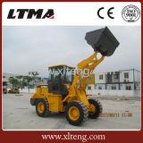 Commercio all'ingrosso della Cina mini caricatore della rotella da 2 tonnellate con la benna 1.2cbm