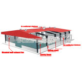 Refrigerador industrial do deserto, refrigerador de ar nodal evaporativo, ar condicionado de baixo consumo de energia