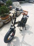 """Batterie der Geschwindigkeit-20 """" des Lithium-36V, die elektrisches Schnee-Fahrrad faltet"""