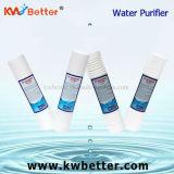 Cartucho del purificador del agua de los PP con el cartucho de filtro plisado de agua