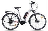 La bicicleta eléctrica modelo de la ciudad con Mediados de-Conduce el motor (TDB14Z)