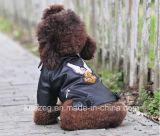 Manteau de cuir de PU Pet/Vêtements pour petit chien (KH0036)
