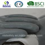 Entièrement gants de travail enduits par nitriles (SL-N120)