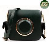 Sac de luxe Emg4890 de messager de cuir véritable de femmes de sacs à main de créateur