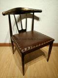 Стильные шикарно изогнутые кафе металла/стулы/шикарный металл обедать обедая стул с задней частью