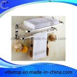高品質の上品な金金属のタオル掛け