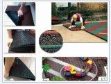 Циновки безопасности цветастой напольной спортивной площадки резиновый толщина 2.5cm и 5cm