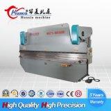Máquina de dobra hidráulica da placa da certificação Wh67k do CE, imprensa para almofadas de freio com preço do competidor
