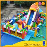 Parc de loisirs Coco gonflable géant Diapositive Fun City pour la vente (AQ122-1)