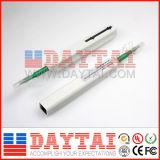 Één klikt Reinigingsmachine van de Pen van de Vezel de Optische Geschikt voor de Adapter van het Koord van het Flard van de Schakelaar van Sc