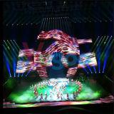 Visualizzazione di LED dell'interno locativa di colore completo dello schermo HD P4.8 del LED