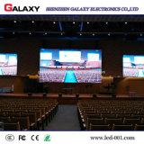 Parete dell'interno fissa della visualizzazione di LED P2/P2.5/P3/P4/P5/P6 video per il negozio, pubblicità di costruzione