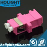 Roze van de Adapter LC van het blind het DuplexOm4 met Flens