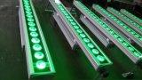 24PCS*10W RGBW LEDの壁の洗浄軽い段階の照明