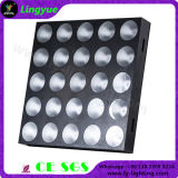 Iluminação do estágio do diodo emissor de luz do feixe da matriz da ESPIGA de DMX 25X15W