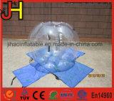 透過豊富な球のフットボールの試合のための膨脹可能な泡球
