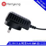 OEM&ODM de Muur van de Stop 24V 600mA van AR zet AC gelijkstroom de Adapter van de Omschakeling op