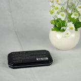 Kundenspezifischer Metallkondom-Kasten, dünner Metallzinn-Kasten, Minimetallkasten