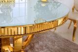 금 Foshan 대리석 둥근 식탁 가정 가구 식탁 고정되는 Sj913