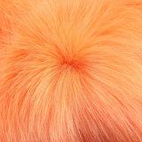 Tessuto lungo colorato della pelliccia del mucchio della pelliccia del Faux della pelliccia di falsificazione della pelliccia alto