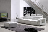 Sofà di cuoio moderno della mobilia all'ingrosso del salone della Cina