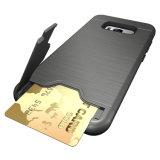 Super Armor Card Slot Kickstand caso do telefone para Samsung S8