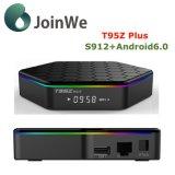Android6.0 4K TVボックスとS912 2GBのRAM TVボックスT95z
