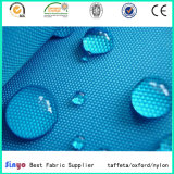 Recubierto de PVC de alta calidad resistente al agua 100% poliéster 500D de tejido Oxford