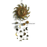 New Metal Sun Face Windbell Garden Decoration