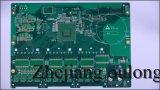 2 층 핼 녹색 솔더 마스크 PCB