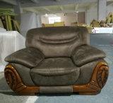 China, das ledernes Sofa, Gewebe-Sofa, Wohnzimmer-Möbel, Hauptmöbel (2109, exportiert)