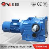 Fabricante profesional de caja de engranajes biselada helicoidal de la velocidad de la serie del kc para la máquina