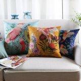 贅沢な綿の居間の家具のためのリネン枕投球