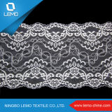 Fancy Lace Border Designer Sarees Design, tecido de renda Paisley