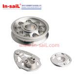 Anelli lavoranti della sede di CNC dell'alluminio con la flangia