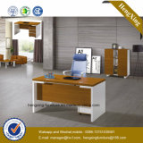 Moderno branco L Shape Office Recepção PC Desk (HX-GD002)