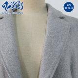 Laag van de Dames van de Manier van de Revers van de Koker van de Fabriek van het kledingstuk de Lange Grijze Lange
