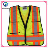 Standard 100% Polyester Reflective Clothing Safety Vest