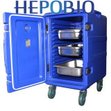 rectángulo de almacenaje de enfriamiento grande del moldeado rotatorio del pecho de 600L Capcity (HP-UCB600)