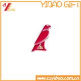 Изготовленный на заказ металл качества Hight мягкий/крепко покрывает эмалью резину e на заднем Pin отворотом значка Pin Brooch (YB-HD-47)