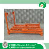 Jaula de acero plegable de la logística para el almacén de Forkfit
