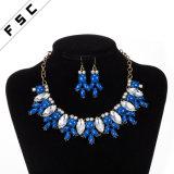 Nouvelle conception de la résine Earring Necklace Mode bijoux Set