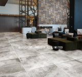 Volles Karosserien-Kleber-graues Porzellan Vitrified glasig-glänzende Matt-rustikale Fliese (MB69028) 600X600mm für Wand und Fußboden